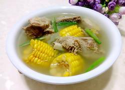 大骨玉米汤