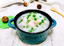 节瓜排骨王糙米粥