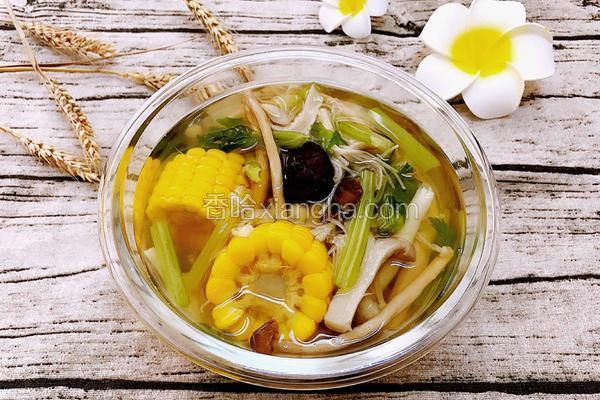 杂菇玉米减肥汤