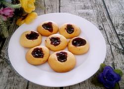 蓝莓酱小饼干
