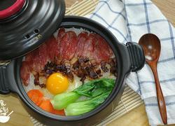 砂锅腊肉饭