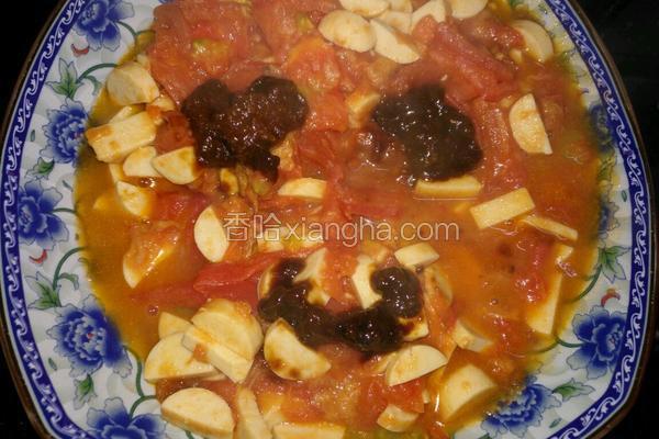 番茄鱼肉丁
