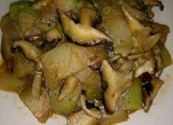 香菇炒冬瓜片