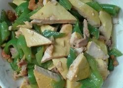 青椒肉丝炒豆腐