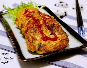 鲜虾豆腐饼[图]