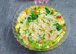 西红柿鸡蛋汤粉