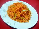 葱油胡萝卜丝的做法[图]
