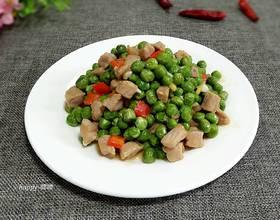 鲜豌豆猪肉粒
