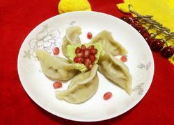 莲藕猪肉饺子