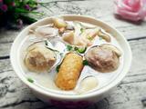 肉丸平菇汤的做法[图]