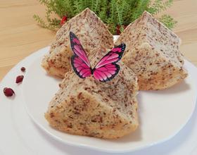 蒸玫瑰花蛋糕