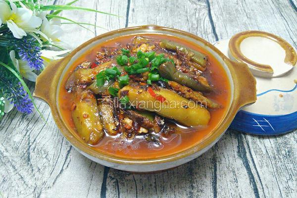 咸鱼茄子煲