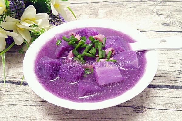 鱿鱼炆紫山药