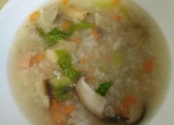 火腿肠菜粥