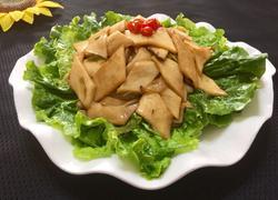 杏鲍菇扣生菜