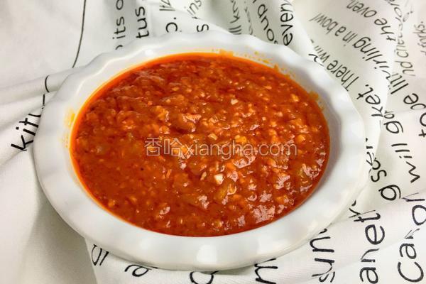 意大利番茄酱(家庭版)