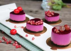 宝宝爱吃的免烤蛋糕——火龙果慕斯蛋糕