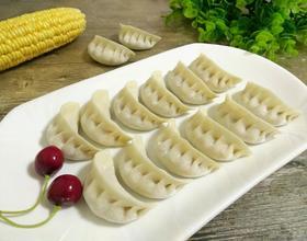 玉米胡萝卜猪肉馅饺子[图]