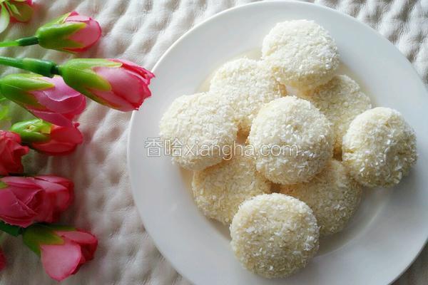 蛋白椰蓉小饼