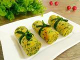 韭菜虾皮鸡蛋卷的做法[图]