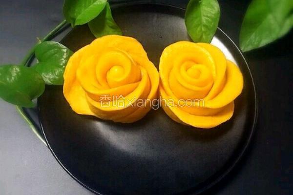 南瓜玫瑰花