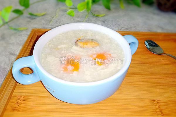淡菜腐竹胡萝卜粥