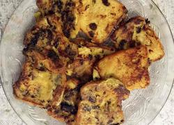 橄榄菜鸡蛋香煎面包片