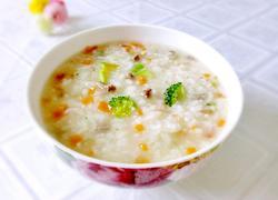 砂锅羊肉粥(清炖法)