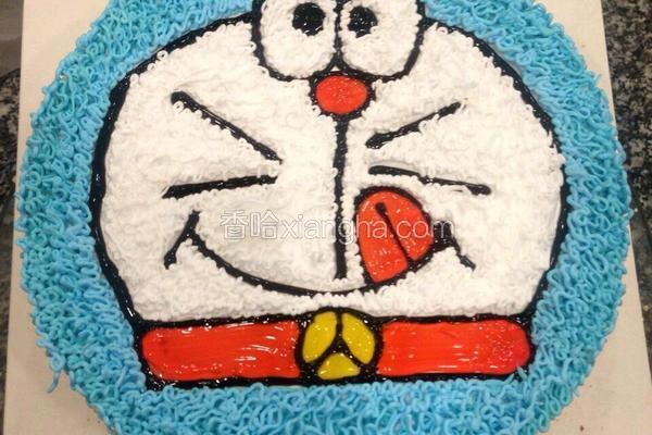 叮当猫蛋糕