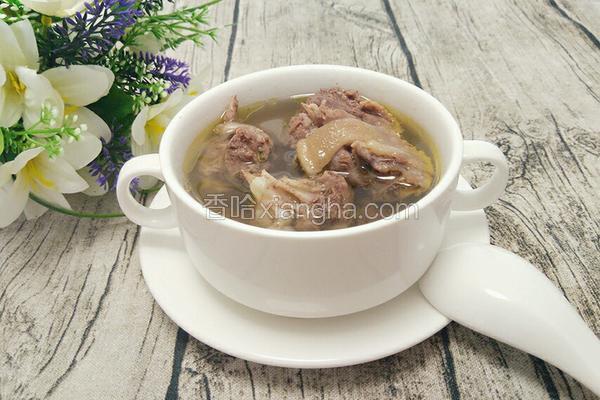 紫苏土鸭汤