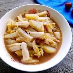 年糕土豆炖白菜