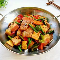 干锅豆腐干
