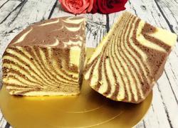 电饭锅版斑马纹蛋糕