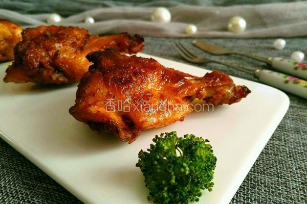 蒜蓉酱烤鸡小腿
