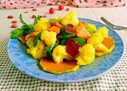 咖喱烩蔬菜