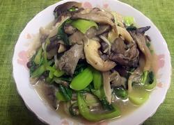 蘑菇小油菜