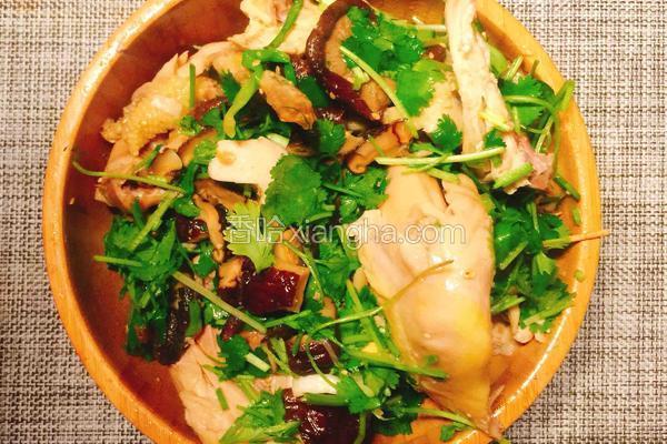铸铁锅烤箱版盐焗鸡