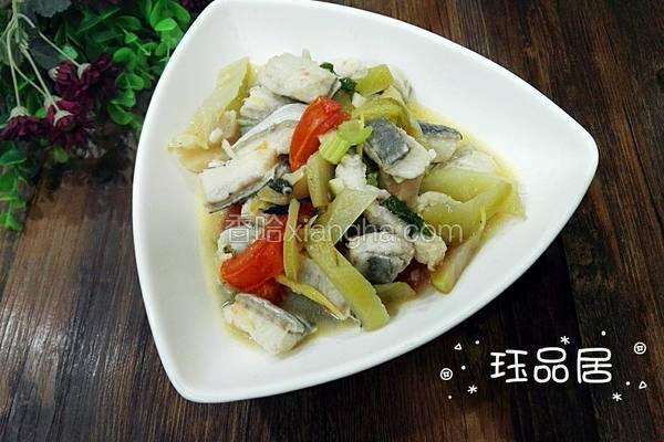 麻鱼煮咸菜