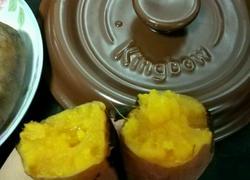坤博砂锅烤红薯