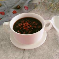 黑小麦米煮黑豆