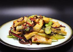 西芹千叶豆腐