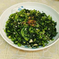 蒜味皇帝菜的做法[图]