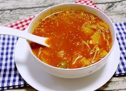 泡菜辣酱汤