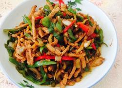 辣椒榨菜炒肉丝