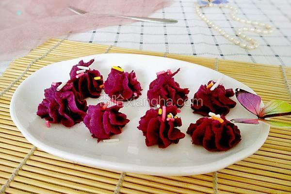 甜蜜紫薯泥