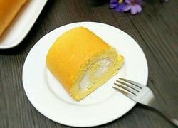 原味奶油蛋糕卷