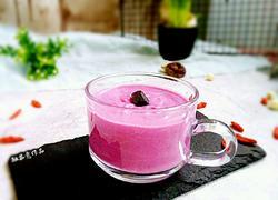 蜂蜜紫薯酸奶