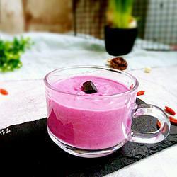 蜂蜜紫薯酸奶的做法[图]