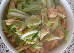 大虾炖白菜