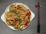 家常炒豆腐皮的做法[图]